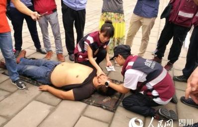 成都市二医院开展应急医疗救援队员户外拓展训练