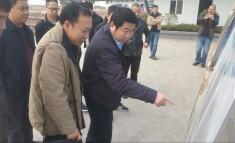 徐荣华院长视察龙潭医院建设项目现场