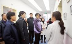 中国红十字会总会党组书记、常务副会长徐科一行莅临我院调研