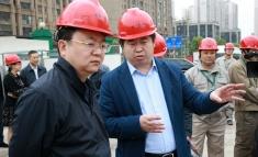 成华区区委书记刘光强一行赴我院龙潭项目现场调研