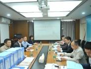 我院康复医学科  接受四川省医学重点专科立项评审