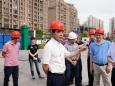 市卫计委党组书记、主任谢强一行督导调研我院龙潭医院建设项目