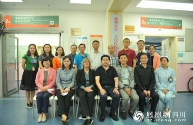 丹麦VIA大学健康学院中国项目主任来市二医院交流访问