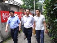 成都市卫计委赵平巡视员到我院调研四圣祠搬迁改造项目