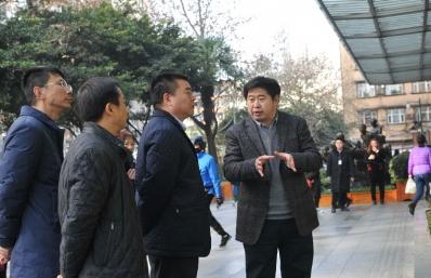 市委第一巡察组杨学明组长来我院调研