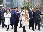 敬静副市长调研市二医院学科建设和医院发展工作