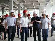 市卫健委党组书记、主任谢强调研我院龙潭医院建设项目