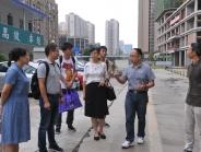 天津市南开大学专家一行到我院龙潭医院建设项目考察调研