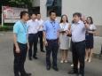 徐荣华院长一行调研青白江区人民医院