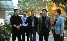 中国医学科学院放射医学研究所、中国医学科学院输血研究所到我院参观