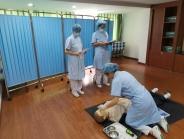 我院开展2019级护士规范化培训学员年度考核