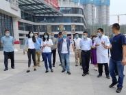 自贡市卫健委一行到成都市第二人民医院龙潭院区进行调研